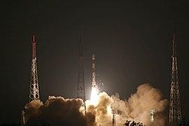 PSLV-C44 Microsat-R launch from First Launch Pad SDSC SHAR Sriharikota 04.jpg