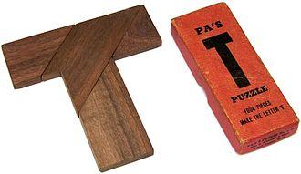 T puzzle - Image: Pa's T Puzzle