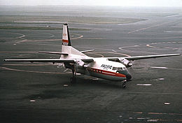 Pacific Air Lines Fairchild F-27A Proctor-1.jpg