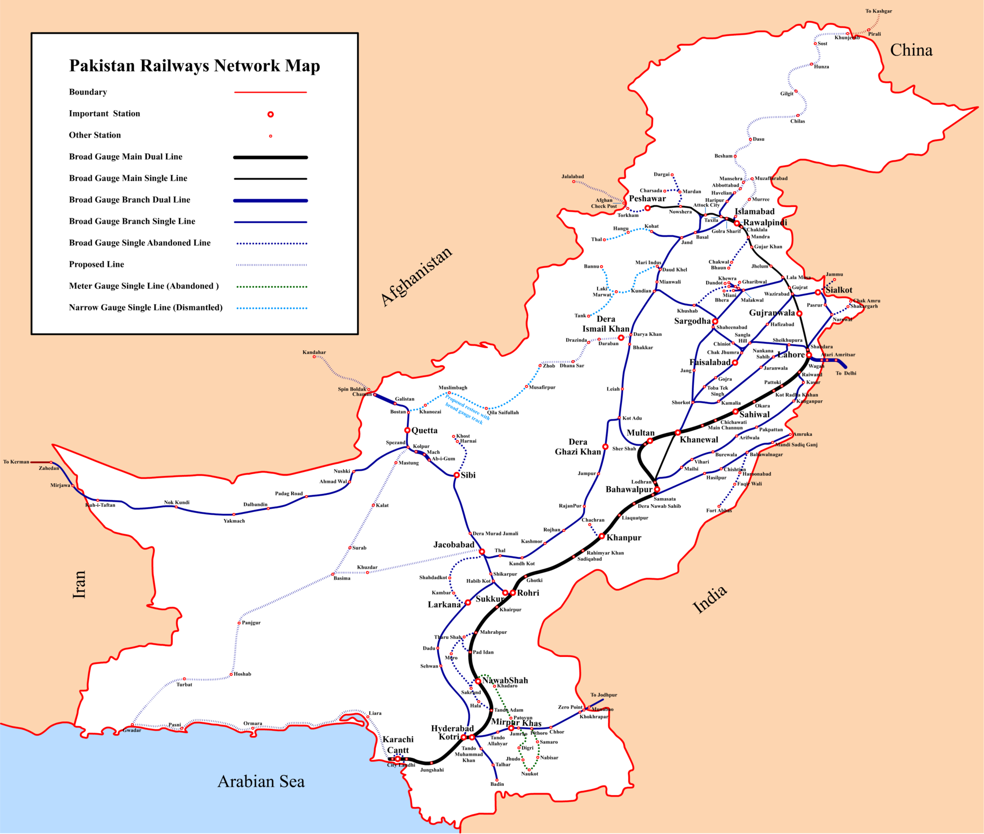 Branches in pakistan