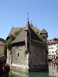Le Palais de l'Isle, à Annecy.