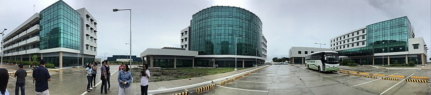 Panorama of Palayan City business park