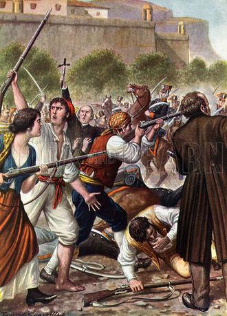 Guglielmo Pepe - Palermo insurrection of 1820