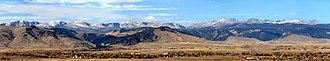 Buffalo, Wyoming - Buffalo, Wyoming at the base of the Bighorn Mountains.