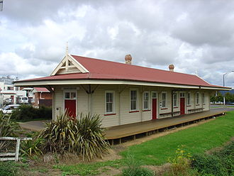 Papatoetoe railway station - Papatoetoe's old railway station - a local landmark