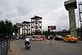 Parama-Park Circus Flyover Under Construction - Eastern Metropolitan Bypass - Parama Island - Kolkata 2012-07-31 0542.JPG
