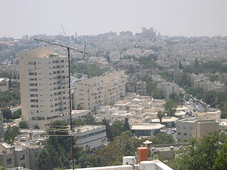 Israeli settlement in the occupied Palestinian West Bank