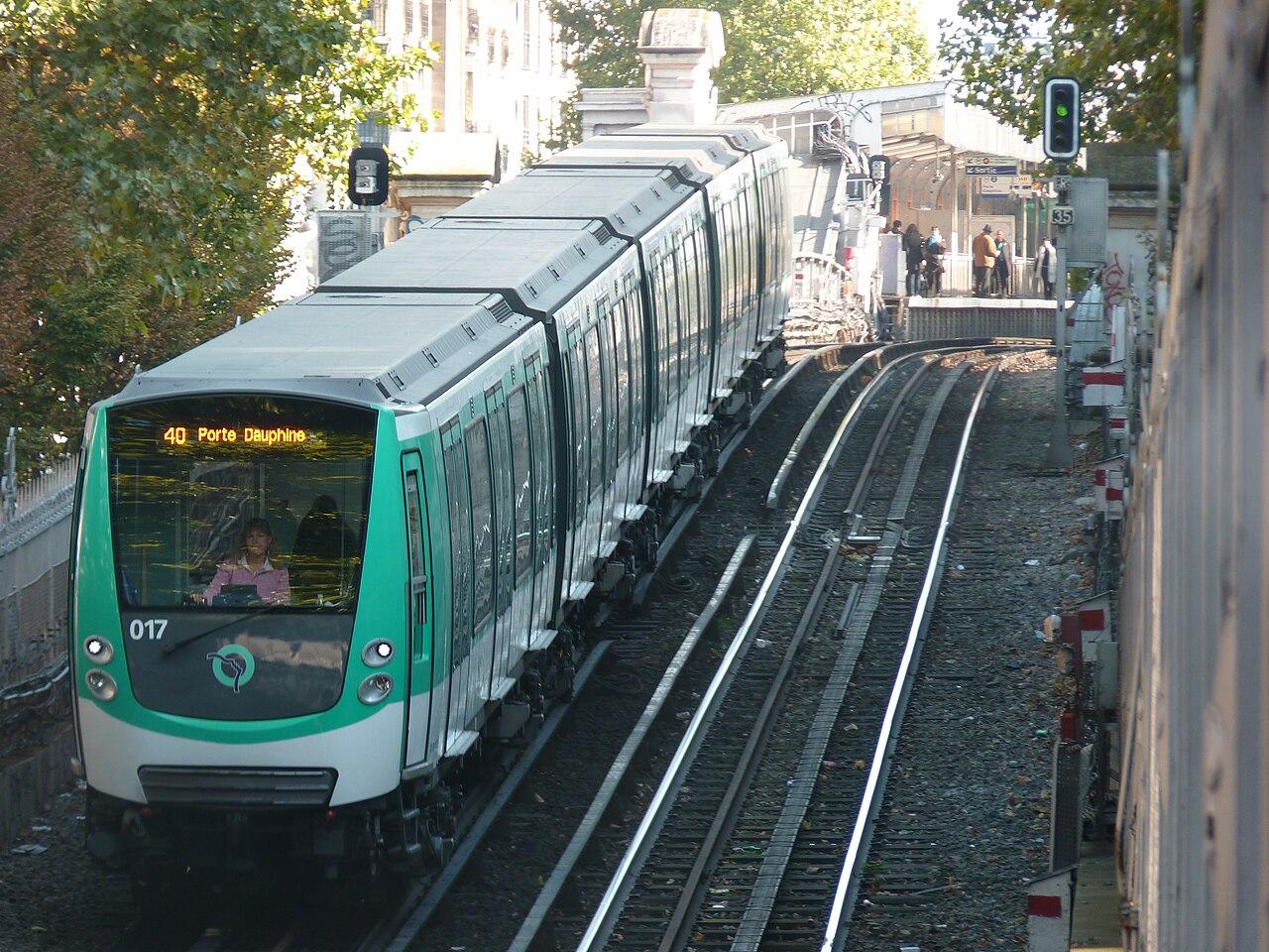 Paris - Métro - Rame - Aérien - Souterrain - Rails - Transport en commun - Déplacement - SchoolMouv - Géographie - CM2