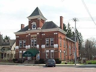 Park Square Historic District (Franklinville, New York)