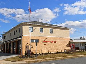 Parkside, Pennsylvania - Image: Parkside PA Fire Company
