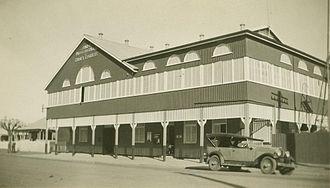 Shire of Paroo - Paroo Shire Hall and Council Chambers, Cunnamulla, circa 1930
