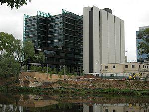 Parramatta Justice Precinct - The Parramatta Justice Precinct (under construction), pictured in 2008.