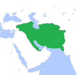 The Parthian Empire at its greatest extent