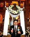 Paschal Liturgy -- Cross, Holy Light, Red Paschal Egg.jpg