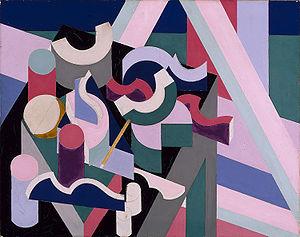 Patrick Henry Bruce - Still-life, 1924