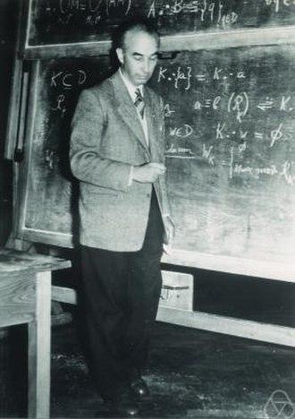 Paul Dubreil - Paul Dubreil in 1954 Photo courtesy of MFO