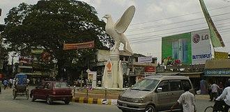 Jhenaidah District - Image: Payra chattar, jhenaidah