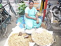 Peanut shop of a lady.JPG