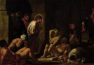 Christ Healing the Sick at the Pool of Bethesda