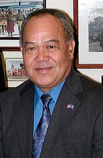 Pedro Agulto Tenorio Resident Representative to the United States from the U.S. Commonwealth of the Northern Mariana Islands