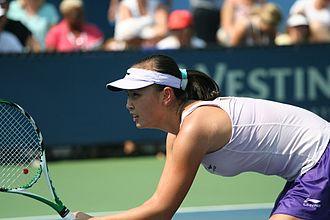 Peng Shuai - Peng Shuai at the 2010 US Open.