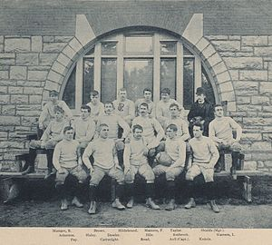 1891 Penn State Nittany Lions football team - Image: Penn State Football 1891