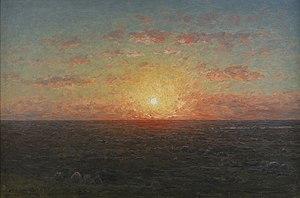 Per Ekström - Image: Per Eksröm Solnedgång över havet