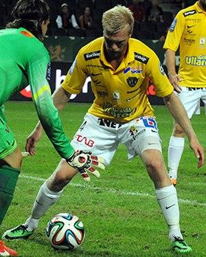 Per Karlsson (footballer, born 1989) - Image: Per Karlsson Falkenberg