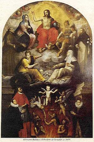 Giovanni Balducci - Altarpiece of Pardon of Carlo Gesualdo, Santa Maria delle Grazie, Gesualdo