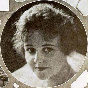 Carol Holloway - Holloway from an ad for Perils of Thunder Mountain (1919)