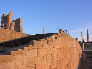 Stairs - Stairways in Persepolis, Iran, built ca. 550 B.C.