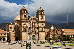 Andean Baroque Route - Society of Jesus Church