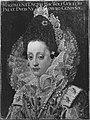 Peter Candid (gen. Pieter de Witte) (Kopie nach) - Bildnis der Herzogin Magdalena von Bayern, Gemahlin Herzog Wolfgang Wilhelms von Pfalz-Neuburg, im Hochzeitsstaat (1597-1628) - 3217 - Bavarian State Painting Collections.jpg