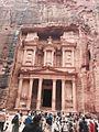 Petra Treasury -WikiArabia.jpg