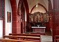 Pfarrkirche St. Matthias, Nördliches Seitenschiff mit dem Nieder-Rodener Marienretabel.jpg