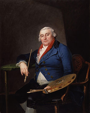 Philip James de Loutherbourg - Philippe Jacques de Loutherbourg (Self-portrait)