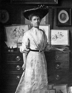 Florence Scovel Shinn - Photo of Florence Scovel Shinn (no later than 1903)