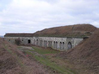 Battle of Łomża (1939) - Fort I in Piątnica, modern view