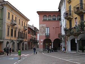 Romagnano Sesia - Piazza della Liberta
