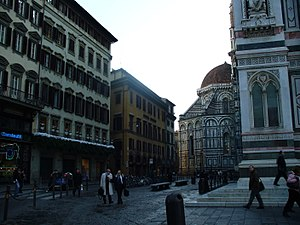 Piazza San Giovanni - Image: Piazza San Giovanni (Florence) 1