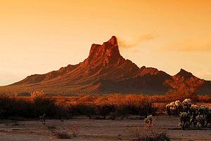 Battle of Picacho Pass - Picacho Peak