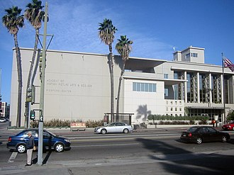 Academy of Motion Picture Arts and Sciences - Pickford Center for Motion Picture Study in the Hollywood district