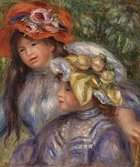 Two Girls (Deux fillettes)