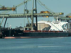 Pierre LD - IMO 9311608 - Callsign FMGN , Mississippi harbour, Port of Rotterdam, Holland 08-Jul-2006.jpg