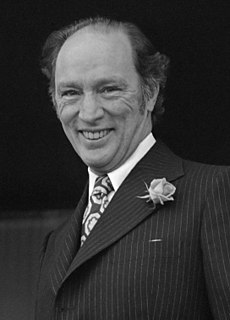Pierre Trudeau 15th Prime Minister of Canada