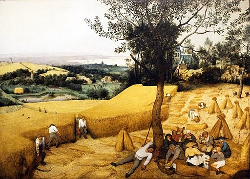 Pieter Bruegel the Elder- The Corn Harvest (August)
