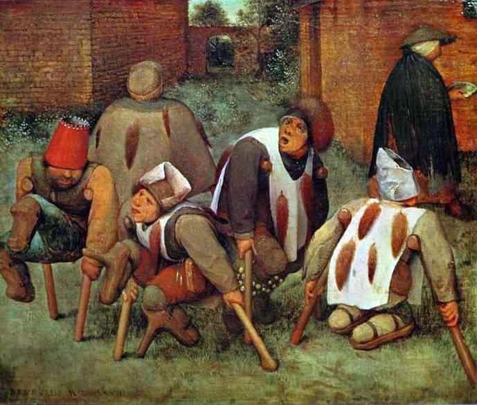 Pieter Bruegel the Elder - The Cripples