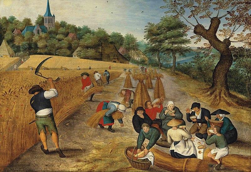 File:Pieter Brueghel de Jonge - Zomer, oogster.jpg