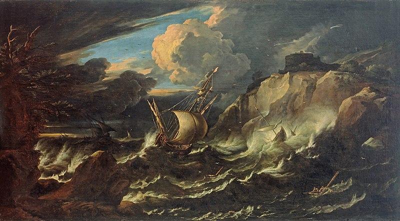 File:Pieter Mulier (II) - Storm at Sea - WGA16315.jpg