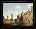 Pieter jansz. saeredam, utrecht, piazza e chiesa di santa maria, 1662.jpg